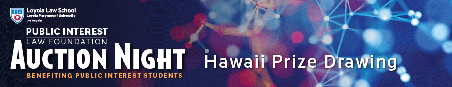 Public Interest Law Foundation Hawaii Prize Drawing