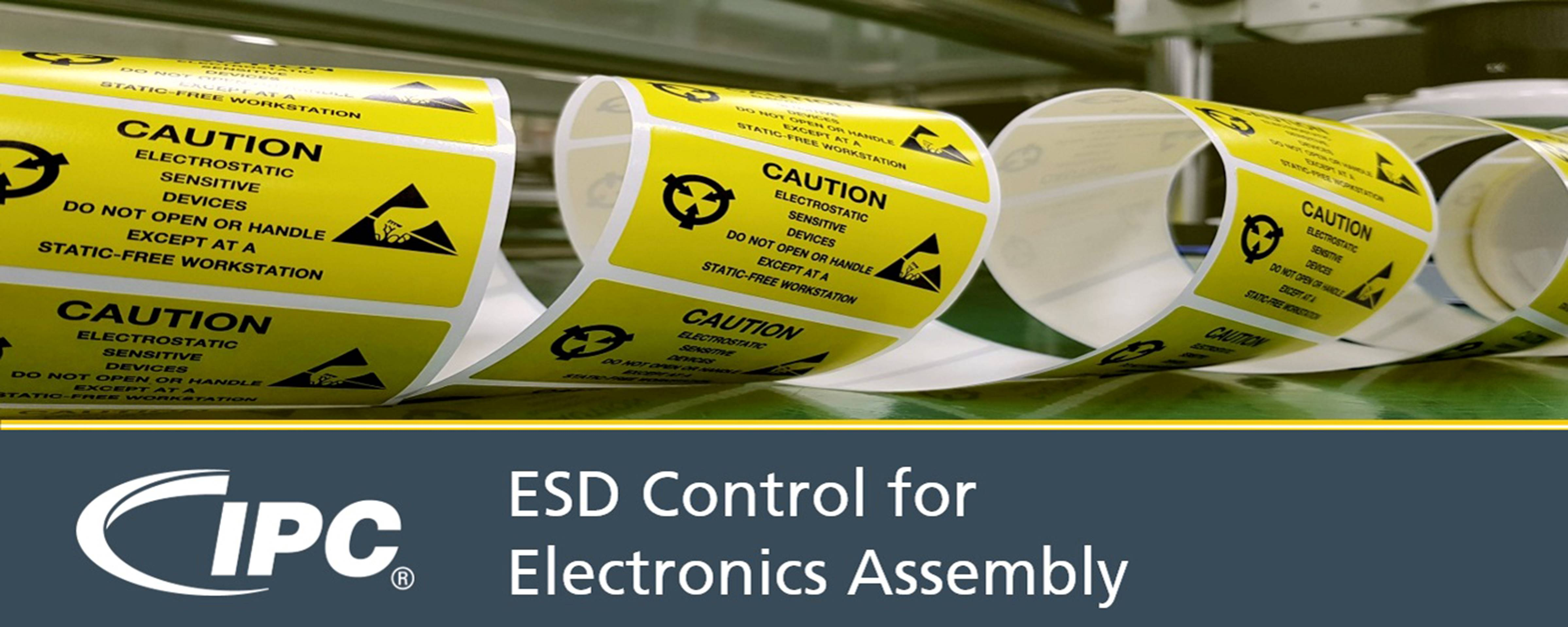 ESD Control for Electronics Assembly-4th quarter 2019