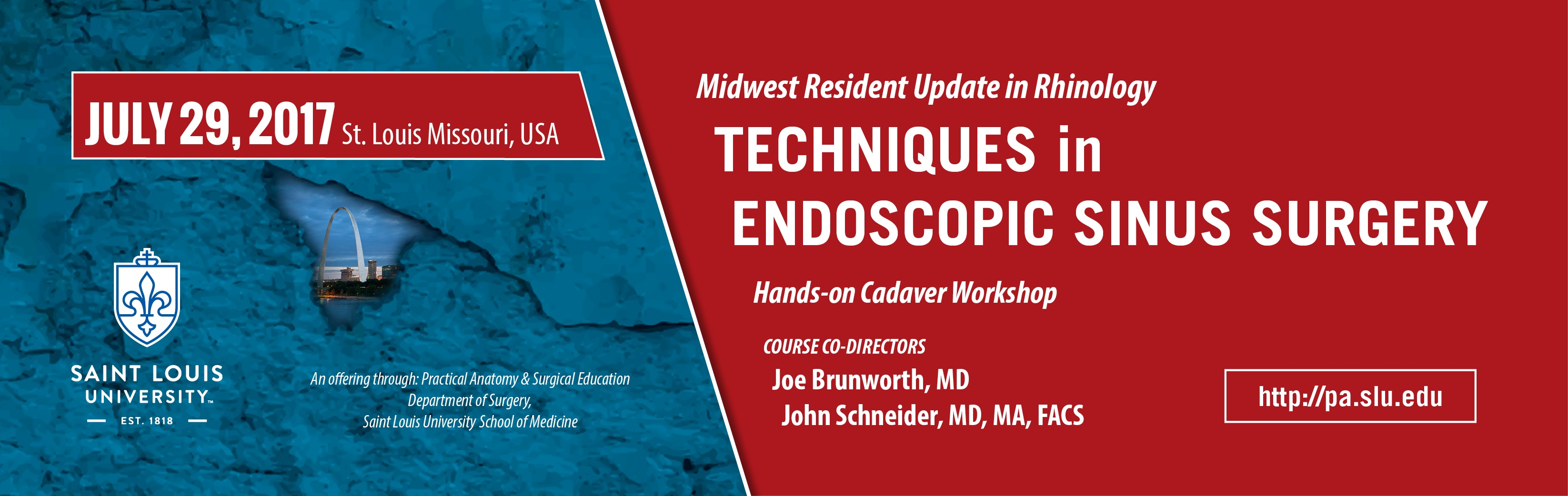 Resident Update in Rhinology: Techniques in Endoscopic Sinus Surgery