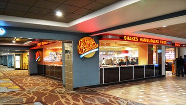 Johnny Rockets shakes hamburgers and fries
