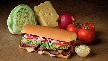 Fresh sliced deli-style sandwiches at Port of Subs