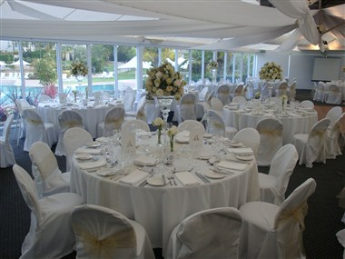 Poolside Marquee