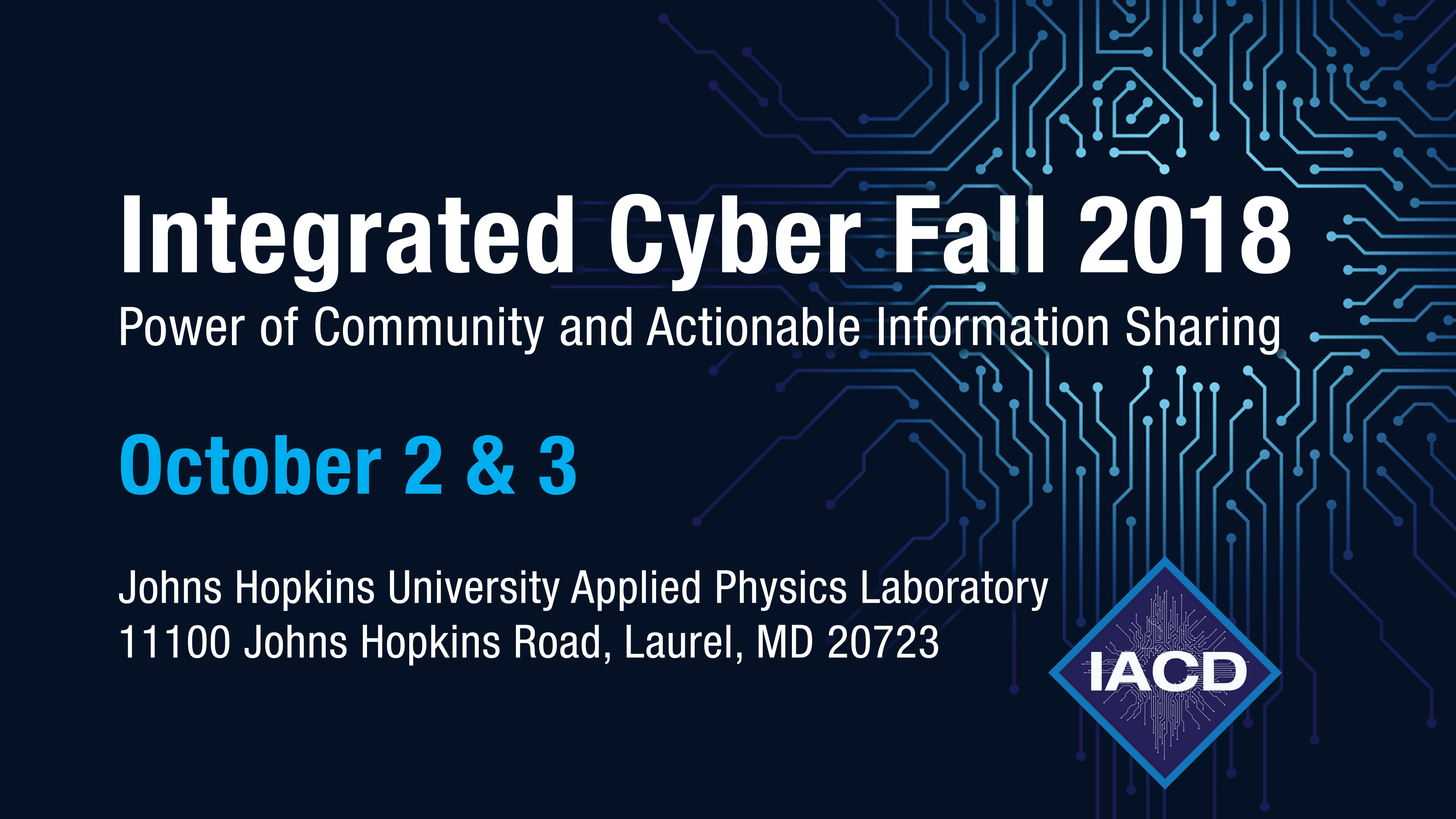 Integrated Cyber Fall 2018