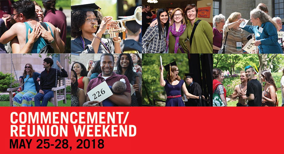 Oberlin College Commencement/Reunion Weekend 2018
