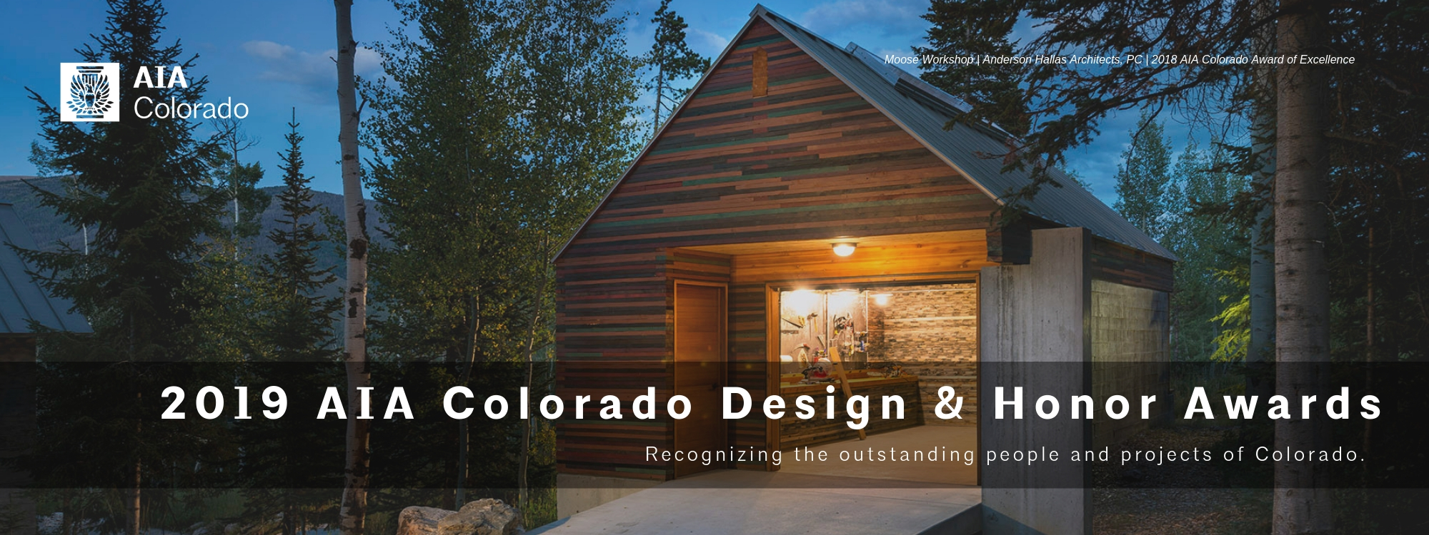 AIA Colorado 2019 Design and Honor Awards Celebration