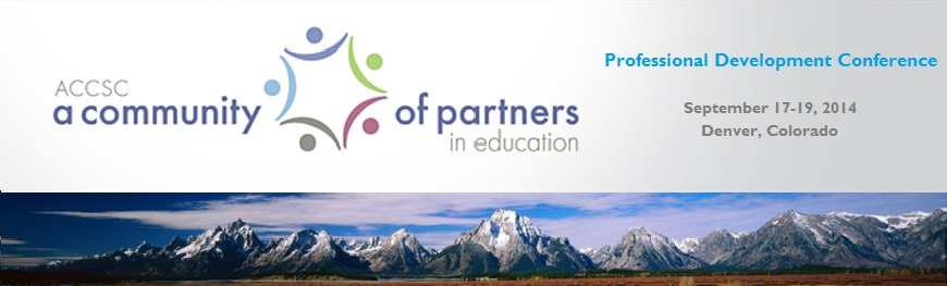 2014 PDC banner with Mountains