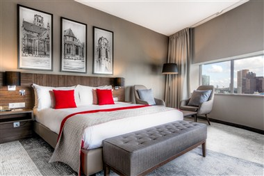 Executive tower room