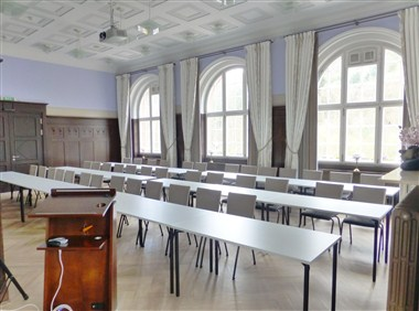 Great Hall for speech