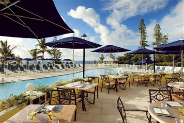 Poolside Dining and Receptions