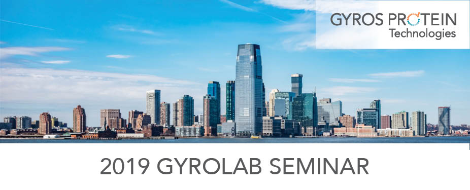 Gyrolab User Seminar 2019: Expanding Development of the Therapies of Today, Exploring the Potential of Tomorrow
