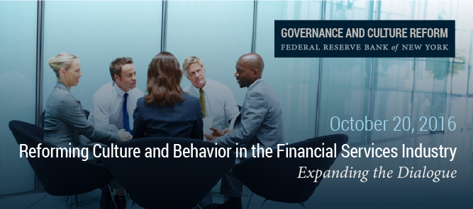 Reforming Culture and Behavior in the Financial Services Industry