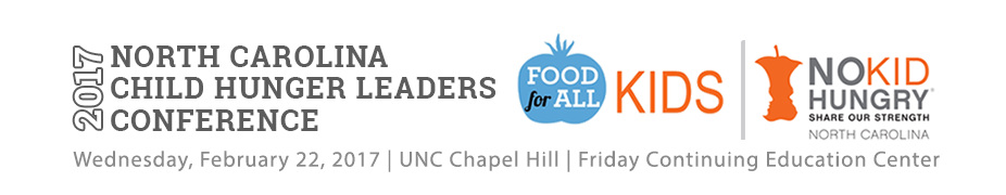 2017 NC Child Hunger Leaders Conference