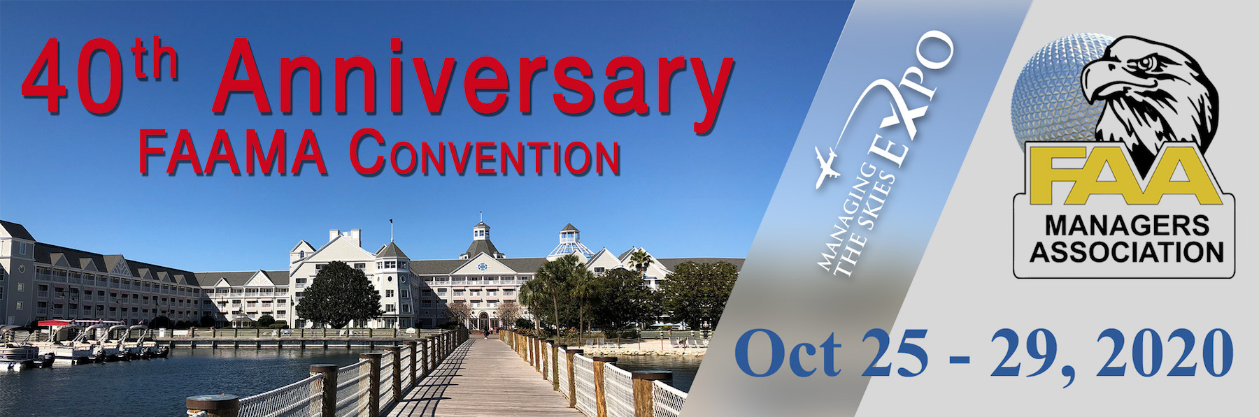 40th Annual FAAMA Convention & Managing the Skies Expo