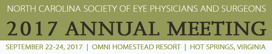 North Carolina Society of Eye Physicians and Surgeons 2017 Annual Meeting