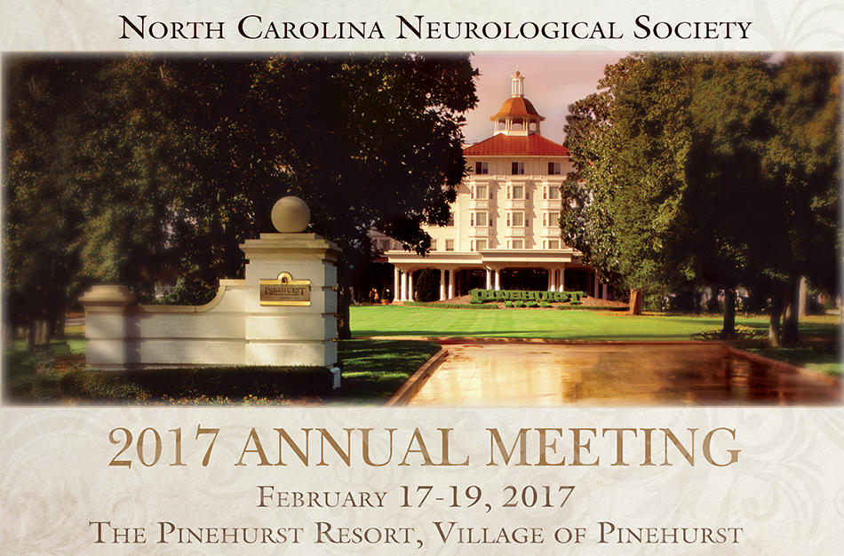 North Carolina Neurological Society 2017 Annual Meeting