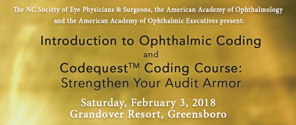 2018 Introduction to Ophthalmic Coding and Codequest