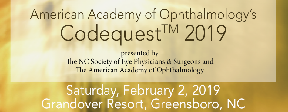 Fundamentals of Ophthalmic Coding and Codequest 2019