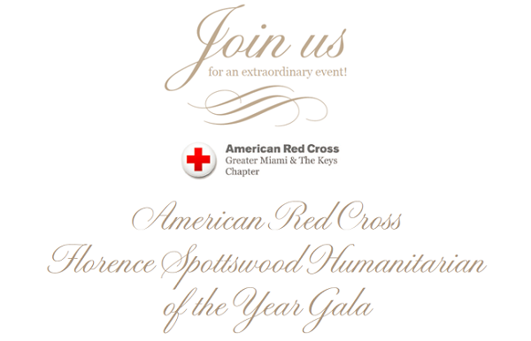 American Red Cross Florence Spottswood Humanitarian of the Year Gala
