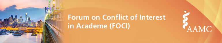 2019 Forum on Conflict of Interest in Academe (FOCI) Annual Meeting
