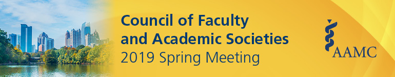 2019 Council of Faculty and Academic Societies Spring Meeting (CFAS)