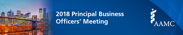 2018 Principal Business Officers' Meeting