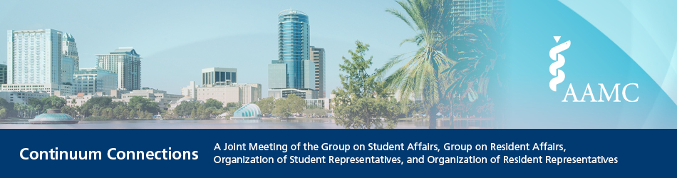 AAMC Continuum Connections: A Joint Meeting of the GSA, GRA, OSR, and ORR