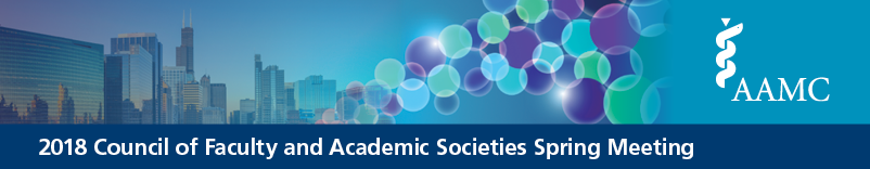 2018 Council of Faculty and Academic Societies Spring Meeting (CFAS)