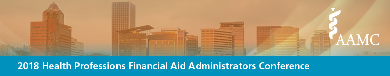 2018 Health Professions Financial Aid Administrators Conference