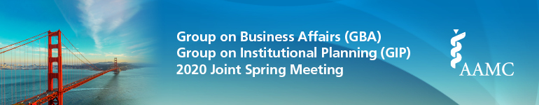 CANCELED-Group on Business Affairs (GBA)/Group on Institutional Planning (GIP)  2020 Joint Spring Meeting
