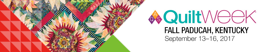2017 AQS QuiltWeek - Fall Paducah Registration