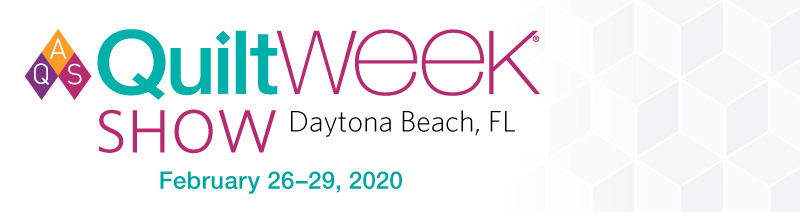 2020 AQS QuiltWeek - Daytona Beach Vendor