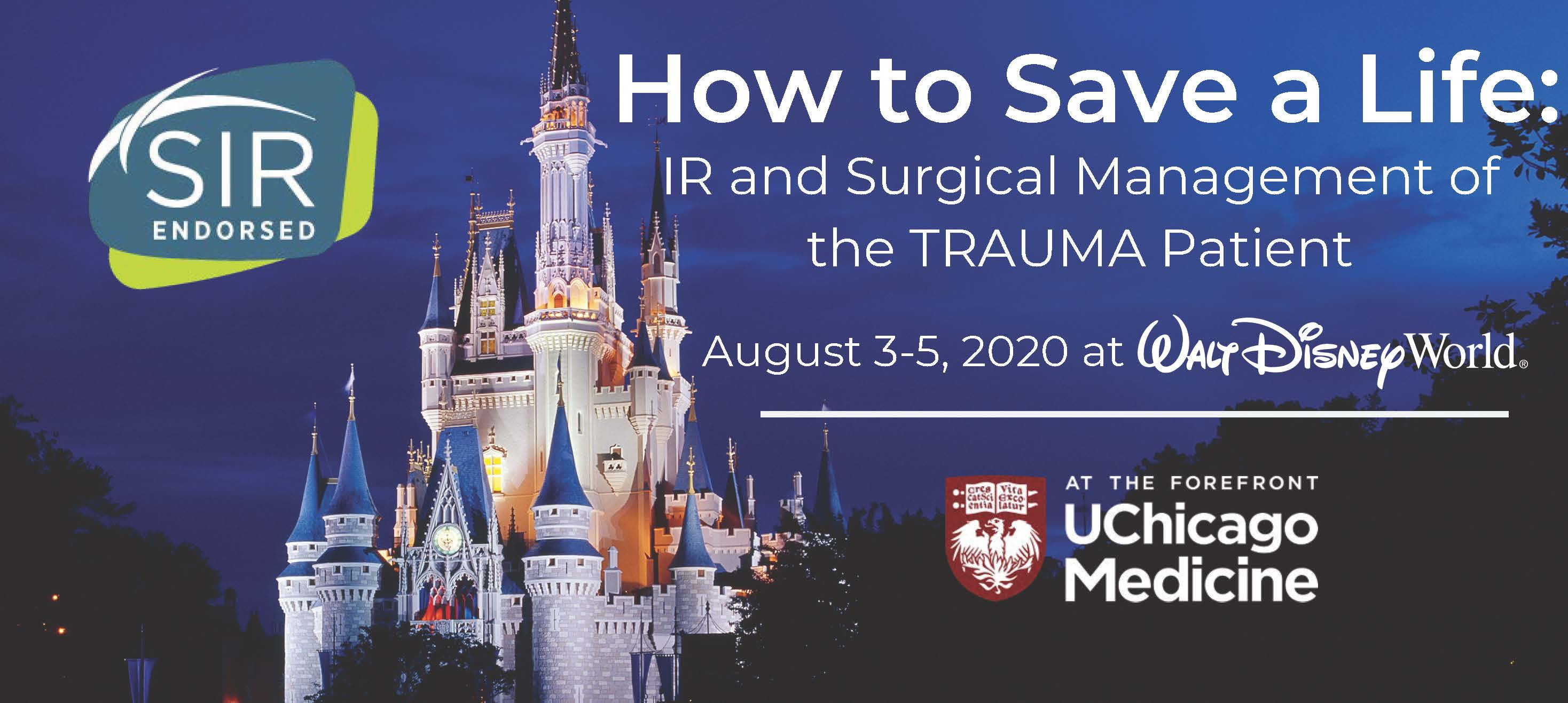 How to Save a Life: IR and Surgical Management of the Trauma Patient