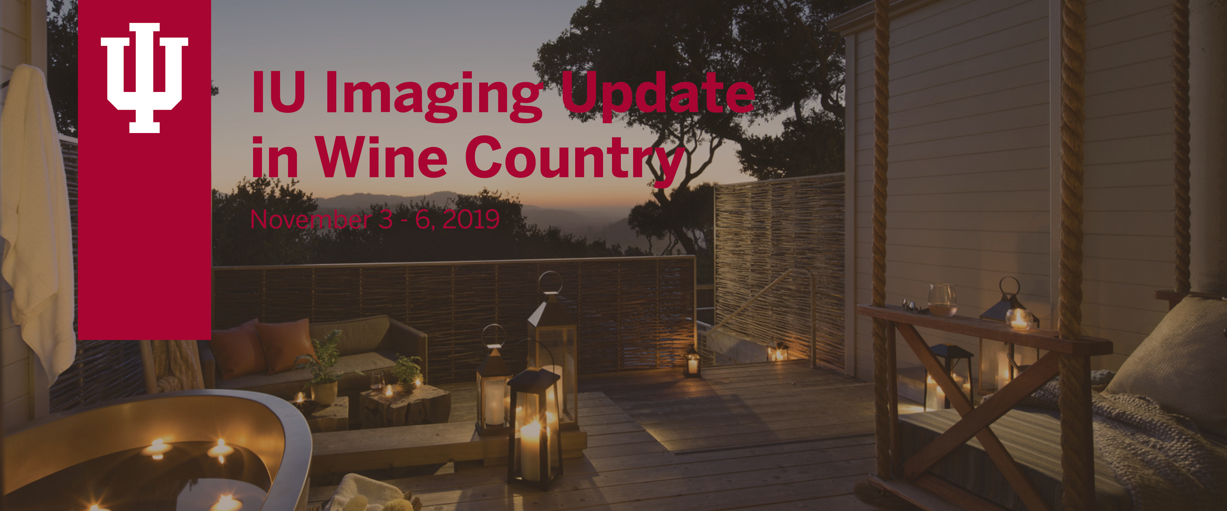 Indiana University Radiology Imaging Update in Wine Country