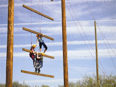 Challenge Course: Giant's Ladder