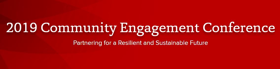 2019 Community Engagement Conference