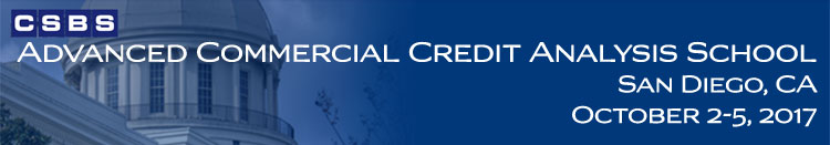 Advanced Commercial Credit Analysis School