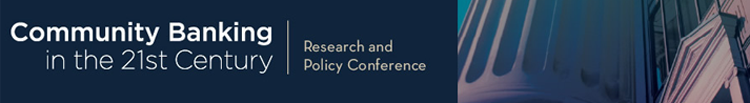 Community Banking in the 21st Century | Research and Policy Conference