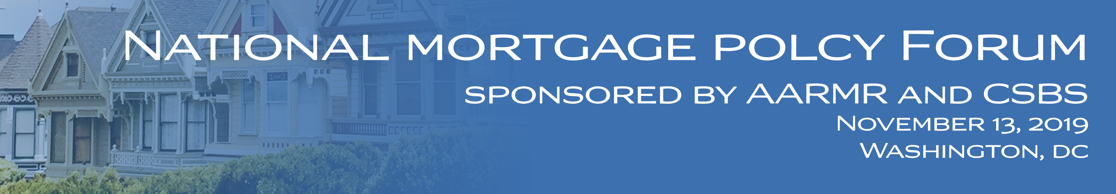 National Mortgage Policy Forum