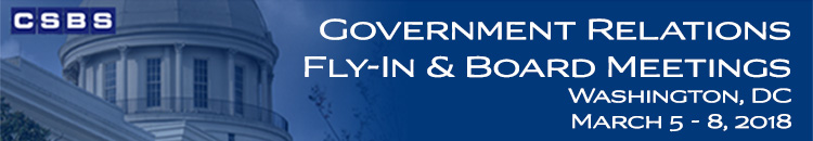 2018 CSBS Government Relations Fly-In and Board Meetings