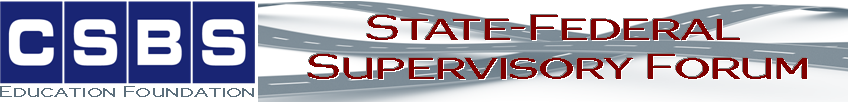 CSBS State-Federal Supervisory Forum