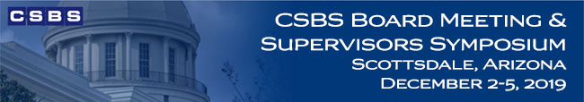 CSBS Board Meeting & Supervisors Symposium