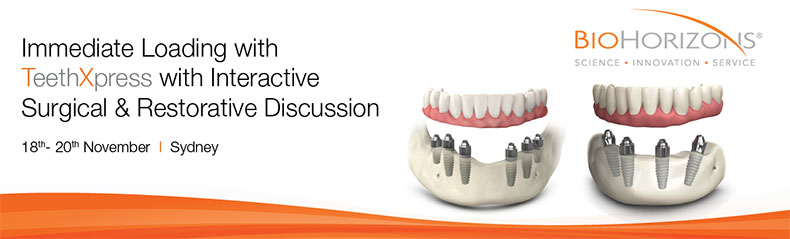Immediate Loading with TeethXpress with Interactive Surgical & Restorative Discussion