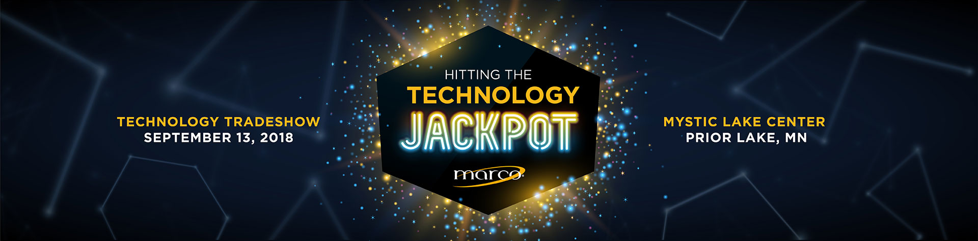 2018 Marco Tradeshow – Hitting The Technology Jackpot