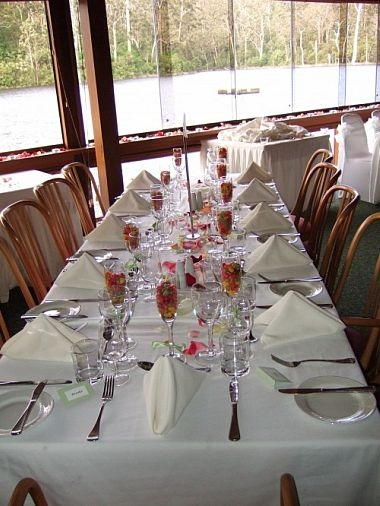 Wedding Table - Lakeside Restaurant