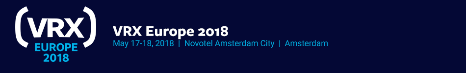 VRX Europe 2018 Expo Only Registration