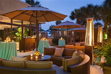 Marriott Outdoor Space