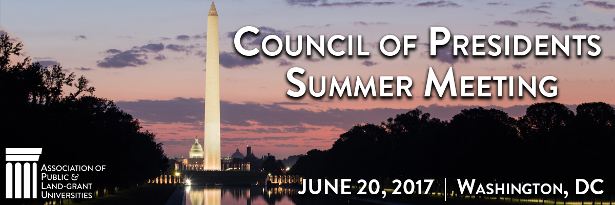 2017 Council of Presidents Summer Meeting