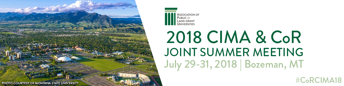 2018 CIMA & CoR Joint Summer Meeting