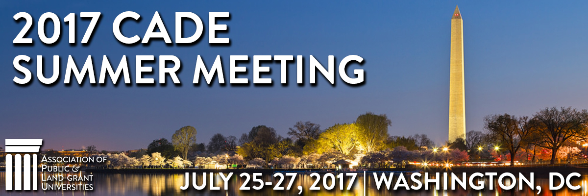 2017 Commission on Access, Diversity and Excellence (CADE) Summer Meeting
