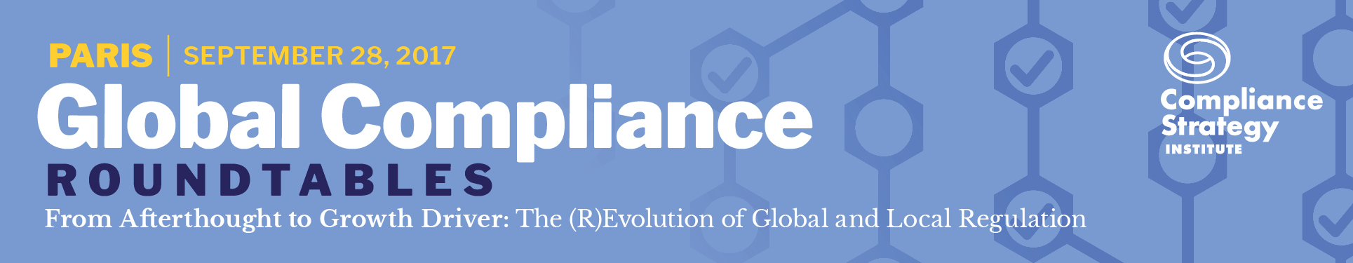 Global Compliance Roundtable, Paris